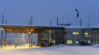 ایستگاه مرزی روسیه و فنلاند در قطب شمال