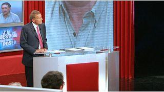 النجم السابق لنشرة أخبار التلفزيون الفرنسي باتريك بوافر دارفور