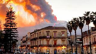 Mount Etna spews ash and lava as Europe's most active volcano erupts again