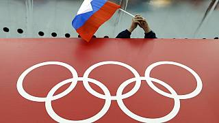 2014'te Rusya'nın Sochi şehrinde düzenlenen Kış Olimpiyatları'ndan bir kare.
