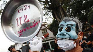 Tüntetések Bangkokban
