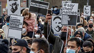 Erinnern an den rassistischen Anschlag von Hanau vom 19.02.2020