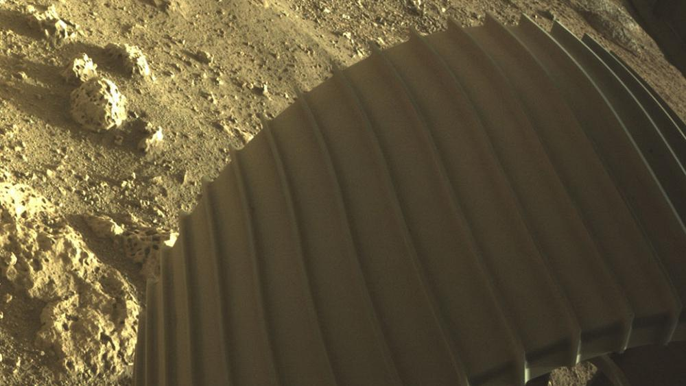 'Iconic!': NASA's Perseverance sends first pictures after Mars landing