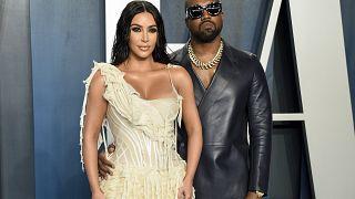 """""""Kimye"""" bei der Vanity Fair Oscar Party in Beverly Hills (2020)"""