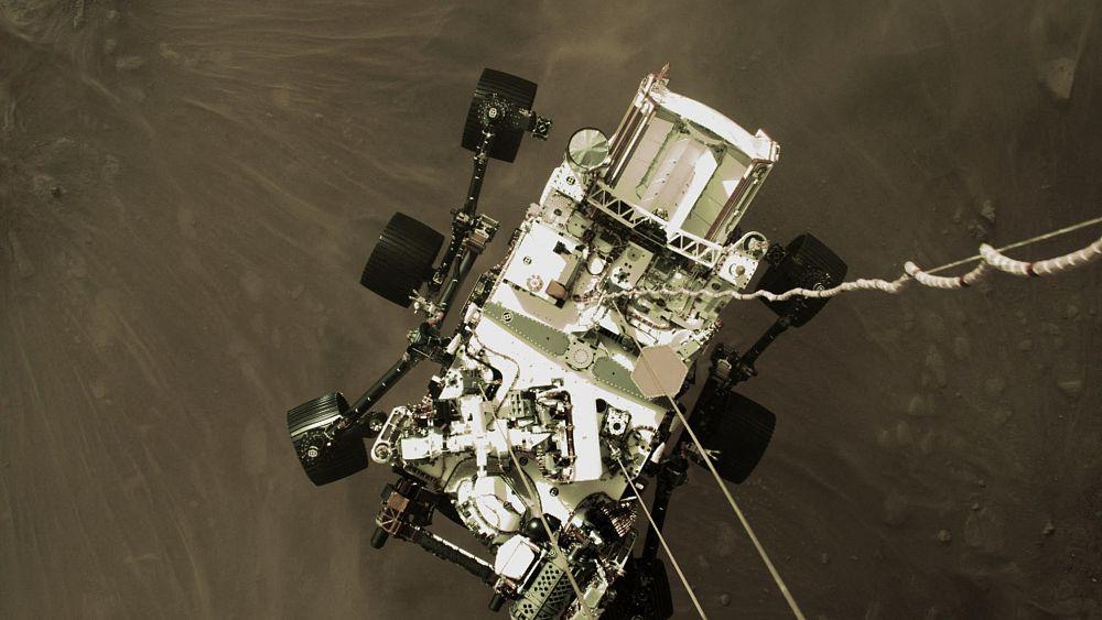Neue Aufnahmen vom Mars - Euronews