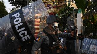 Myanmar'da darbe sonrası eylemlerde kan aktı