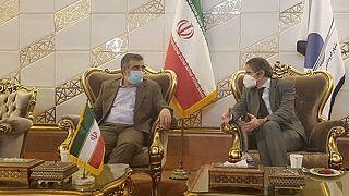 Rafael Mariano Grossi in Teheran
