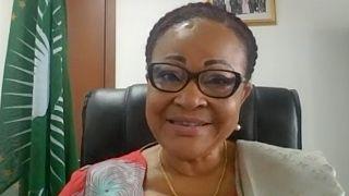 Josefa Sacko, comissária da União Africana