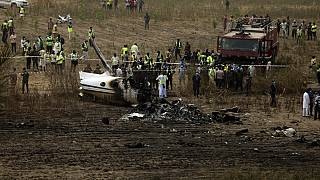 Nigerian air force passenger plane crash kills seven people