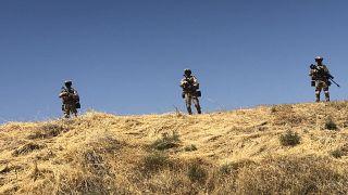 Mardin'de 2020'de PKK'ya yönelik düzenlenen operasyondan bir görüntü