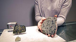 Egy meteorit a Christie's kínálatából