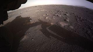 Le sol martien photographié par Perseverance après son atterrissage sur la planète rouge le 18 février 2021