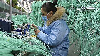 kínai munkás