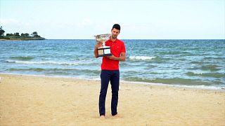 Djokovics már 18-szoros Grand Slam-győztes, és csúcstartó akar lenni
