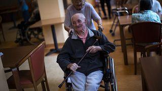دار رعاية لكبار السن في لييج ، بلجيكا