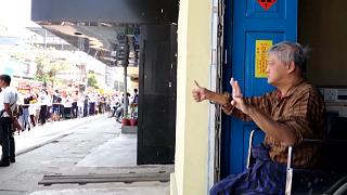 MYANMAR PROTEST NAYPYIDAW