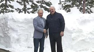 Встреча Владимира Путина и Александра Лукашенко в Сочи