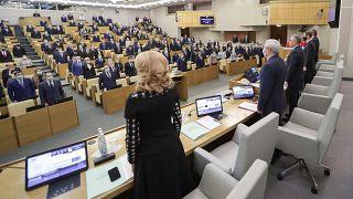 Заседание Госдумы.