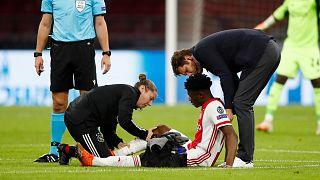 Ghana's Mohammed Kudus scores on Ajax return