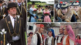 traditional european clothes