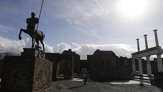 Pompeji im Januar 2021.