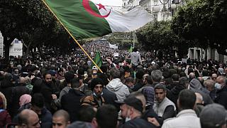 Algerians March on the 2-Year Anniversary of the Hirak Movement