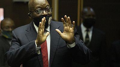 La commission anticorruption réclame deux ans de prison pour Jacob Zuma