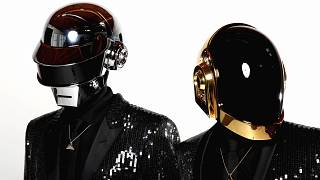Thomas Bangalter, left, and Guy-Manuel de Homem-Christo, from the group Daft Punk