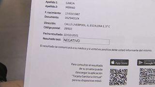 Test de antígenos de COVID-19