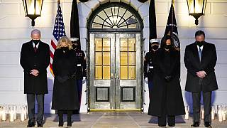 Biden marks 'heartbreaking milestone' of 500,000 US COVID deaths