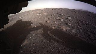 L'atterraggio del rover della Nasa Perseverance su Marte