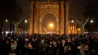 تظاهرات در بارسلون