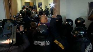 Georgischer Oppositionsführer Melia verhaftet