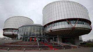 المحكمة الأوروبية لحقوق الإنسان (ECHR) في ستراسبورغ ، شرق فرنسا