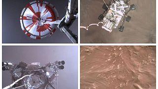 فرود مریخ نورد ناسا