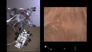 NASA releases first high-speed video of a spacecraft landing on Mars