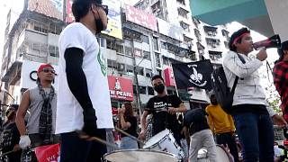 MYANMAR YOUNG MUSICIANS PROTEST
