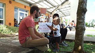 Guadeloupe: des parents d'élèves manifestent contre le port du masque dès 6 ans