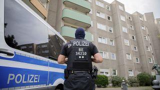ضابط من الشرطة الألمانية في برلين (أرشيف)