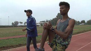 Deux  Qataris préparent les Jeux au Maroc