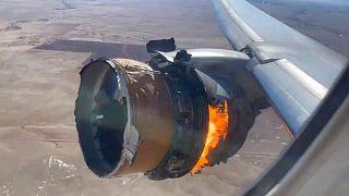 آتش گرفتن موتور پرواز ۳۲۸ یونایتد ایرلاینز در آمریکا