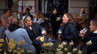 مقهى في ستوكهولم