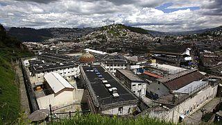 Ekvador'da 2015 yılına kadar kullanılan bir hapishane (Arşiv)