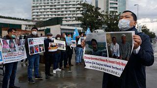 TURKEY UIGHUR PROTESTS