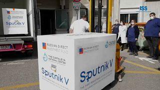 L'arrivée des vaccins Spoutnik V, mardi 23 février, à Saint-Marin