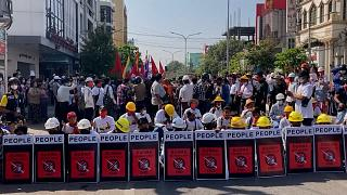 Myanmar Mandalay protest