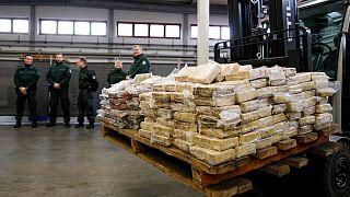کشف محموله کوکائین در بندر هامبورگ آلمان(عکس آرشیوی است)