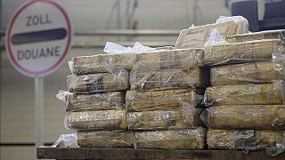 Εικόνα από κατάσχεση κοκαΐνης στο Αμβούργο, σε προηγούμενη επιχείρηση των γερμανικών αρχών