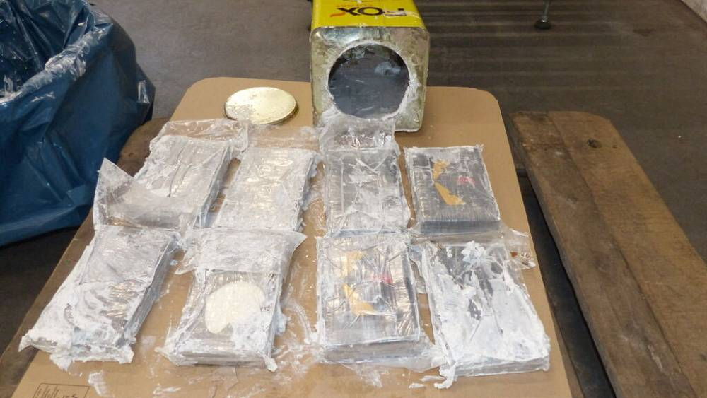 Blow for smugglers as Hamburg makes Europe's biggest cocaine seizure