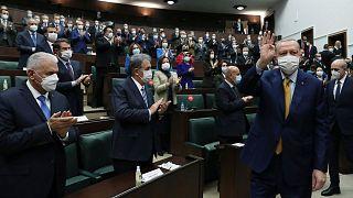 اردوغان در مجلس ترکیه